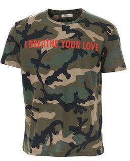 Koszulka moro z nadrukiem