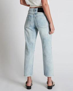 Spodnie jeansowe z dziurami Truckers