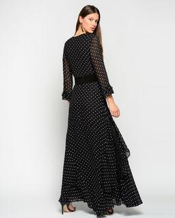 Sukienka maxi Polka Dot