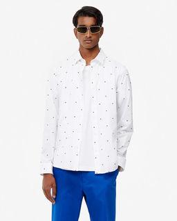 Biała koszula Multi-Eye