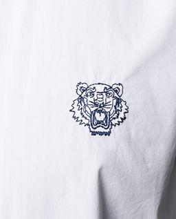 Biała koszula z tygrysem
