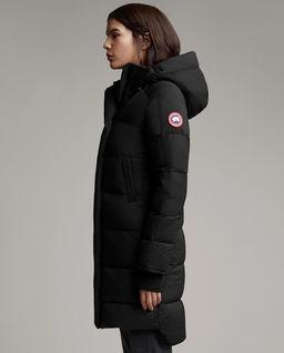 Czarny płaszcz Alliston