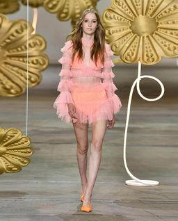 Růžové šaty Tokyo
