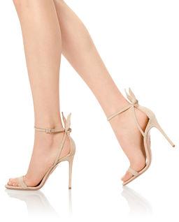 Zamszowe sandały Deneuve