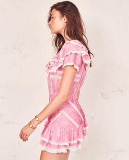 Różowa sukienka Bonita