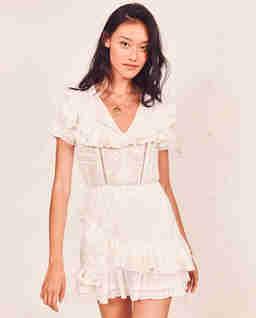 Biała sukienka Bonita