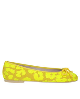 Żółte baleriny w panterę