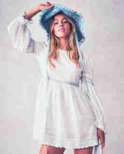 Biała sukienka Jullian