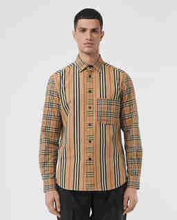 Bawełniana koszula w kratki