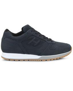 Granatowe sneakersy H321
