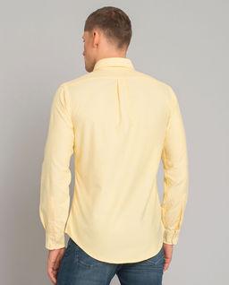 Żółta koszula Custom Fit