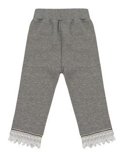 Spodnie dresowe z koronką