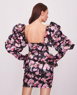 Sukienka z bufkami Honorata