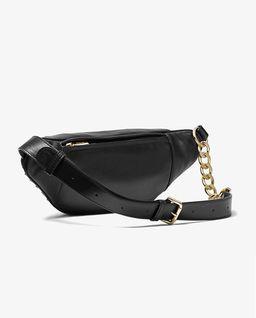 Czarna torebka Medium Studded