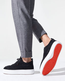 Czarne sneakersy Happyrui Spikes