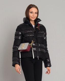 Czarna kurtka puchowa Dordogne