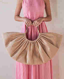 Beżowa torba Banu