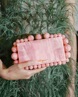 Różowa torebka Eos