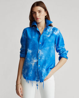 Niebieska koszula Oxford