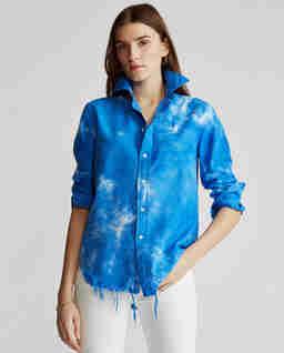 Modrá košile Oxford
