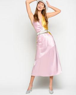 Saténové midi šaty Minestra