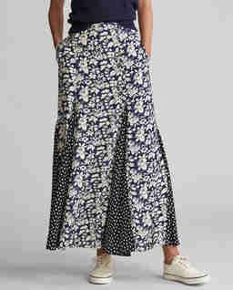 Květinové maxi šaty