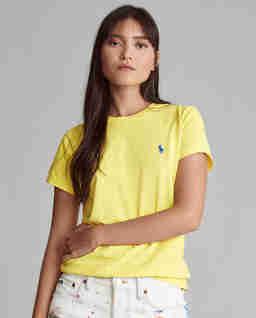 Žluté tričko s logem