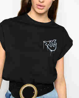 T-shirt z logo Bombolone