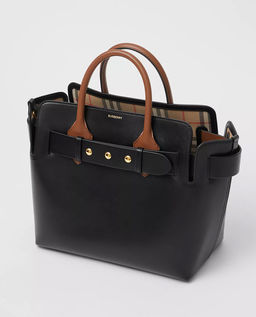 Czarna torebka ze skóry Belt Bag Small