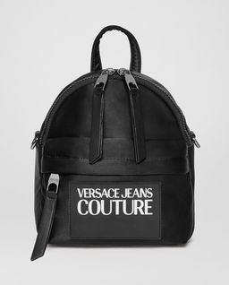 Černý batoh s logem
