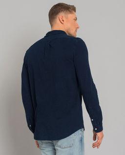 Granatowa koszula Mesh