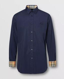 Granatowa koszula Slim Fit