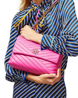 Różowa torebka na ramię