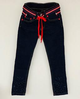 Spodnie jeansowe granatowe