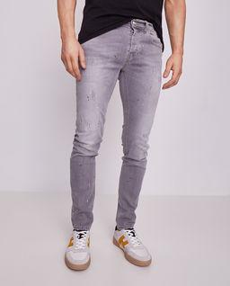 Spodnie z przetarciami Skinny da Vinci