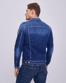 Kurtka jeansowa z logo