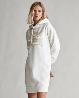 Bawełniana sukienka z kapturem