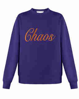Bluza z logo Purple
