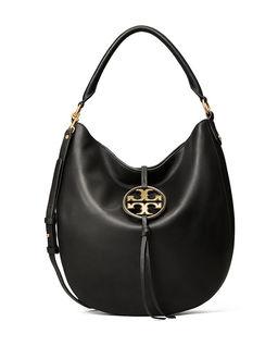 Czarna torebka na ramię Miller Hobo