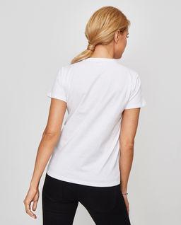 Biała koszulka z czaszką
