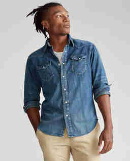 Koszula jeansowa Western Classic Fit