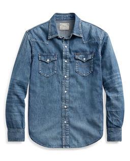 Koszula jeansowa Western