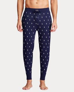 Granatowe spodnie od piżamy