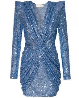Sukienka mini z cekinami Jennifer