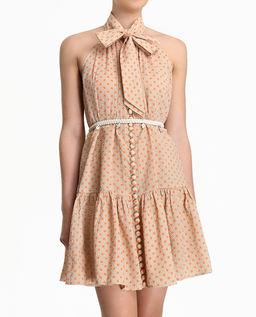 Sukienka mini w grochy