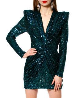 Cekinowa sukienka mini
