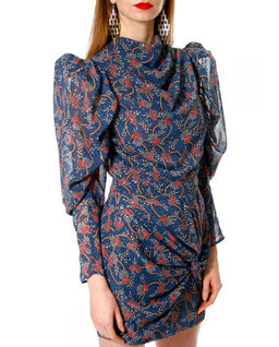 Sukienka  mini z jedwabiem Vanessa