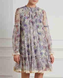 Sukienka mini Ditsy