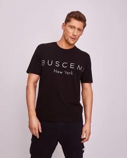 Czarny t-shirt z kryształami