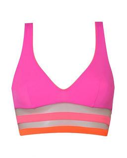Różowy top od bikini Zenaya